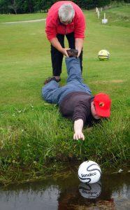 GoS football golf